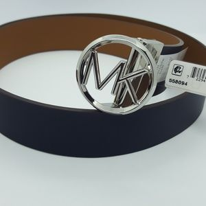 Michael Kors Reversible logo belt- Medium